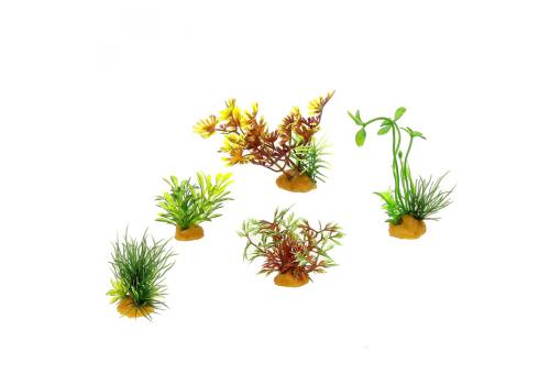 Набор пластиковых растений Prime PR-70610, 5шт