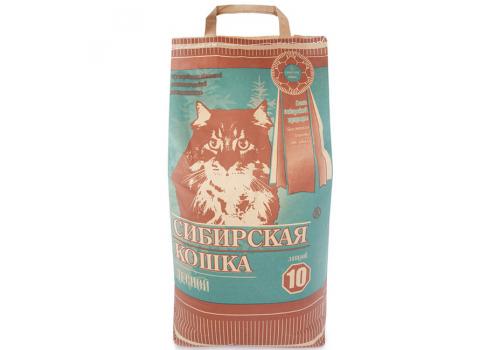 Наполнитель Сибирская кошка Лесной, древесный 10л