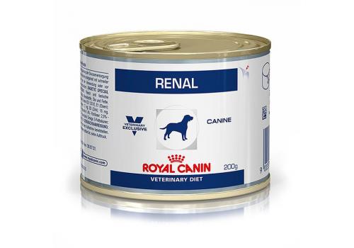 Диета Royal Canin Renal для собак при почечной недостаточност 200г