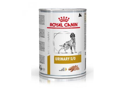 Диета Royal Canin Urinary S/O для собак при заболевания мочевыделительной системы 410г