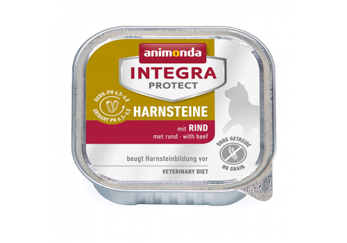 Консервы Animonda Integra Protect Harnsteine (Urinary), с говядиной 100г