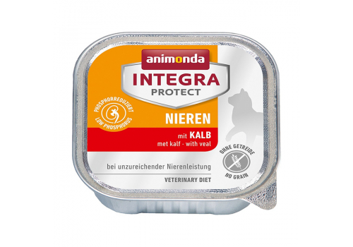 Консервы Animonda Integra Protect Nieren (Renal), с телятиной 100г
