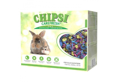Бумажный наполнитель для мелких животных и птиц Chipsi CareFresh Chipsi Confetti 5л