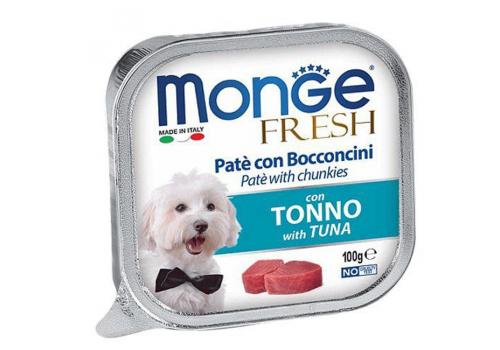 Консервы Monge Fresh для собак, тунец 100г
