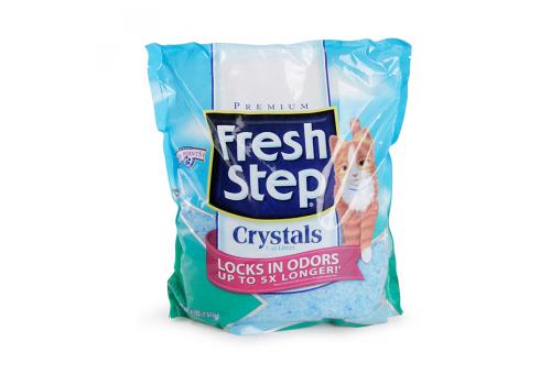 Наполнитель Fresh Step Crystals силикагелевый 1.81кг