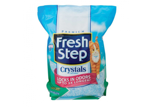 Наполнитель Fresh Step Crystals силикагелевый 3.62кг