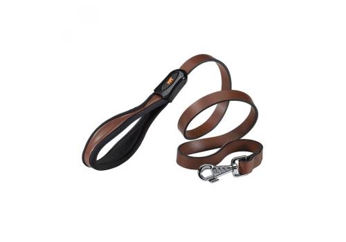 Поводок Ferplast Giotto G20/120 кожаный, коричневый