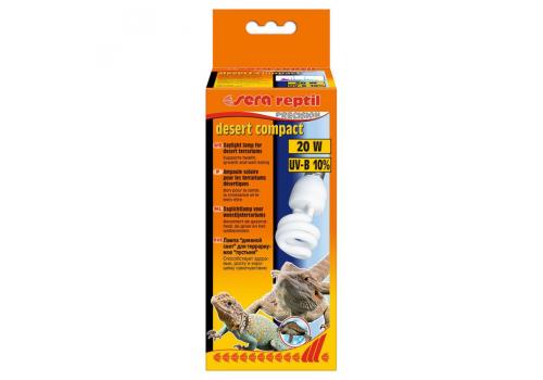 Лампа UV Sera repti desert Compact 10.0, 20Вт