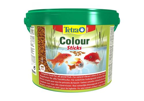 Корм Tetra Pond Colour Sticks, 10л