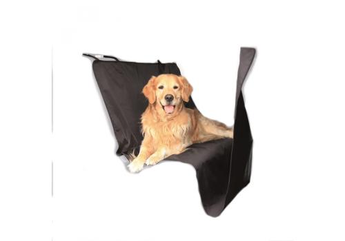 Подстилка Nobby для собак на заднее сидение из нейлона, чёрная, 212 х 145см