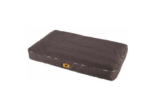 Подушка Ferplast Polo 95 для собак, со съёмным чехлом, коричневая