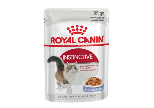 Корм влажный Royal Canin Instinctive (в желе) для кошек 85г