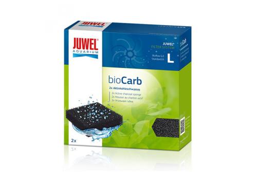 Губка Juwel Standard BioCarb L, угольная