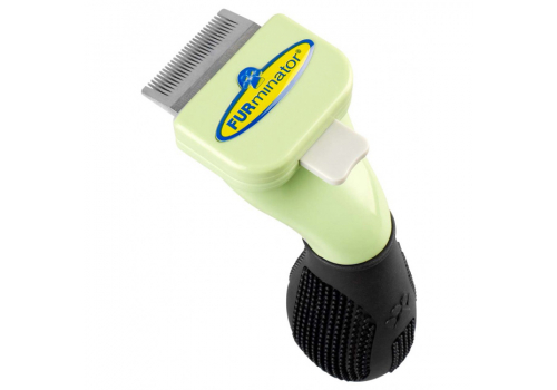 FURminator Long Hair Tool Toy Dog 3см Фурминатор для длинношерстных собак, карликовых пород