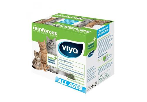 Напиток-пребиотик Viyo для кошек всех возрастов, 30мл