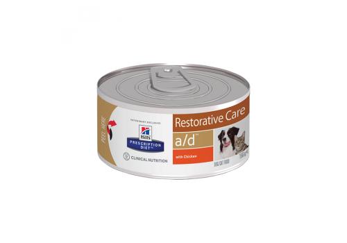 Влажный корм Hill's PD a/d Restorative Care для собак, при реабилитации, с курицей 156г