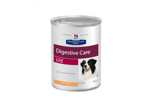 Влажный корм Hill's PD i/d Digestive Care для собак, при расстройствах пищеварения с индейкой, 360г