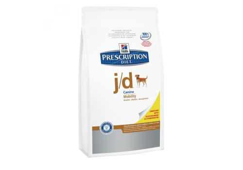 Корм Hill's РD j/d Joint Care для собак, с курицей, при болезни суставов 12кг
