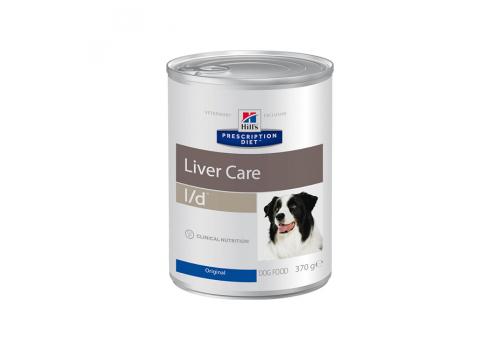 Влажный корм для собак Hill's PD l/d Liver Care для собак, при заболеваниях печени, 370г