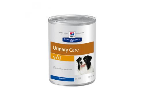 Влажный корм Hill's PD s/d Urinary Care для собак, при профилактике мочекаменной болезни, 370г