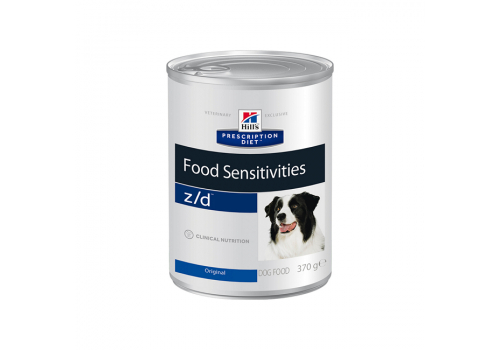 Влажный корм Hill's PD z/d Food Sensitivities для собак, при пищевой аллергии, 370г
