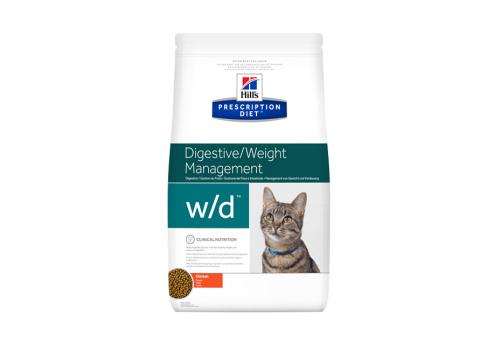 Корм Hill's РD w/d Digestive/Weight для кошек, для поддержания веса 1.5кг