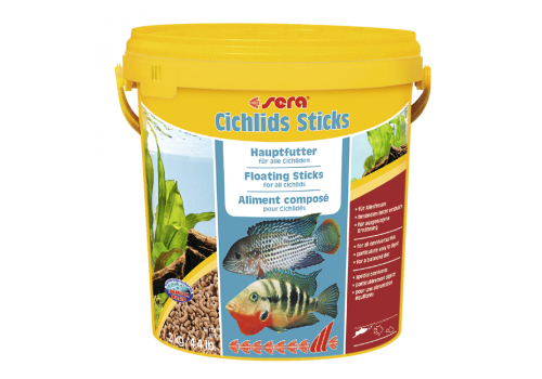 Корм Sera Cichlid Sticks, 10л