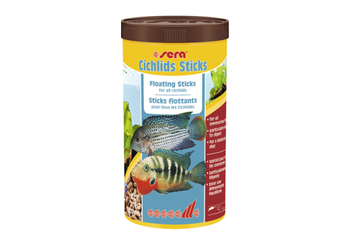 Корм Sera Cichlid Sticks, 1000мл