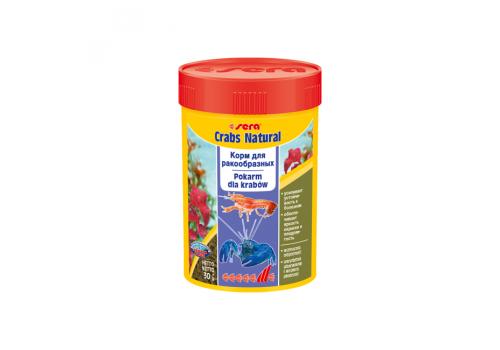 Корм Sera Crabs Natural, 100мл