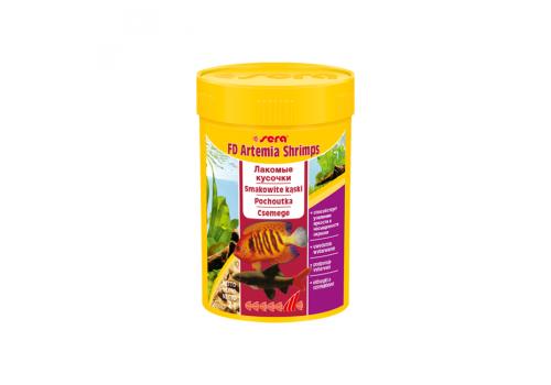 Корм Sera FD Artemia Shrimps, 100мл