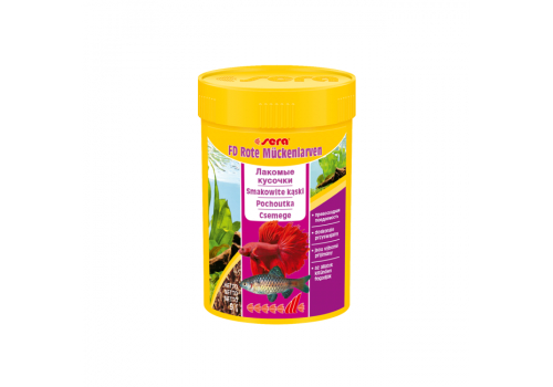 Корм Sera FD Bloodworms, 100мл