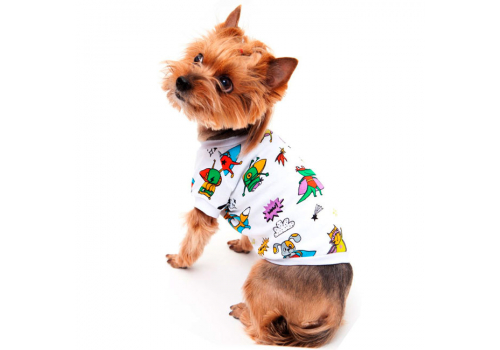 Футболка для собак OSSO Fashion Супергерои, р25