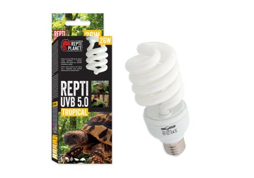 Лампа Repti Planet UVB e27 5.0, 26Вт