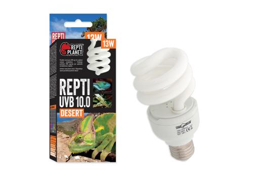 Лампа Repti Planet UVB e27 10.0, 13Вт