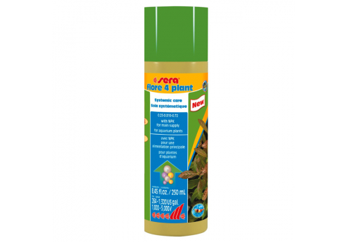 Удобрение Sera Flore 4 Plant, 250мл