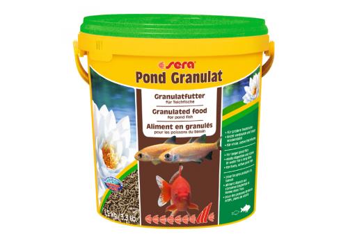 Корм Sera Pond Granulat, 10л