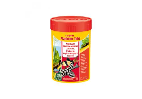 Корм Sera Plankton Tabs, 100мл, 275таб