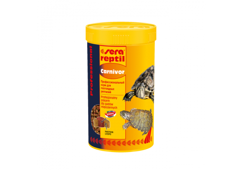 Корм для рептилий Sera Reptil Professional Carnivor, 250мл