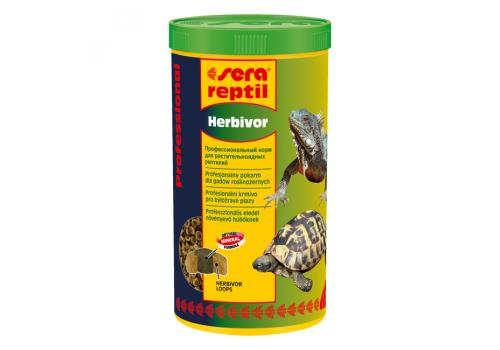 Корм для рептилий Sera Reptil Professional Herbivor, 1000мл