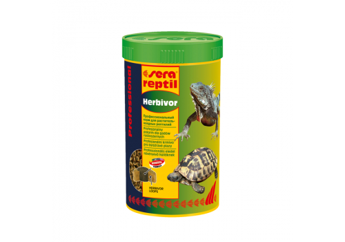 Корм для рептилий Sera Reptil Professional Herbivor, 250мл