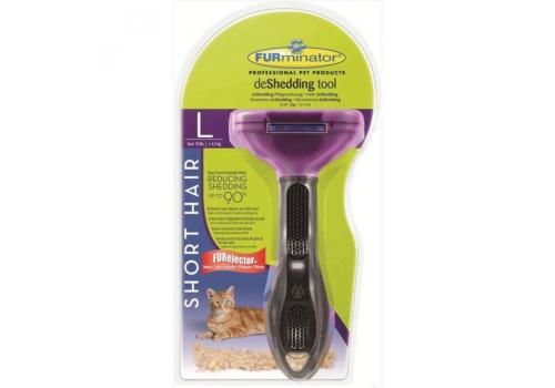 FURminator Short Hair Large Cat 7см Фурминатор для короткошерстных кошек, крупных пород