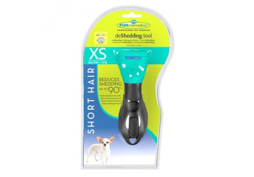 FURminator Short Hair Tool Toy Dog 3см Фурминатор для короткошерстных собак, карликовых пород