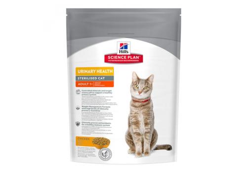 Корм Hill's SP Urinary Health Sterilised для стерилизованных кошек, профилактика МКБ 300г