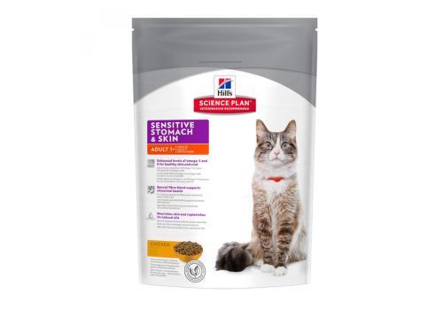 Корм Hill's SP Sensitive Stomach & Skin для кошек, при чувствительном пищеварении 1.5кг