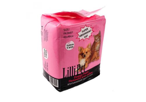 Пеленки впитывающие Lilli Pet DOGGY PADS для собак, 48Х40см, 30шт