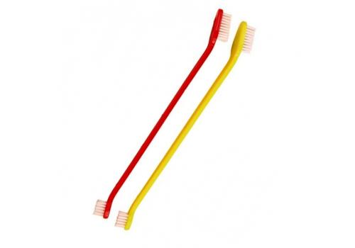 Щетка зубная двусторонняя для собак