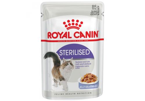 Корм влажный Royal Canin Sterilised (в желе) для стерилизованных кошек 85г