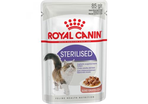Корм влажный Royal Canin Sterilised (в соусе) для стерилизованных кошек 85г