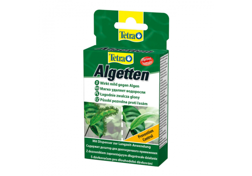 Средство против водорослей Tetra Algetten, 12таб