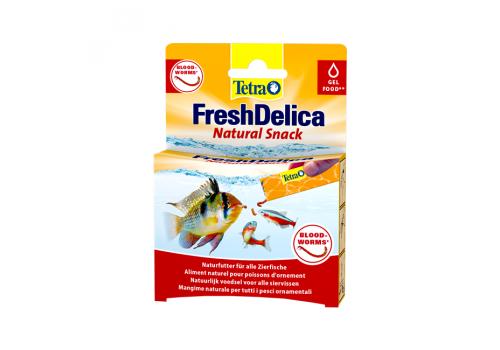Корм Tetra FreshDelica Bloodworms, 48г